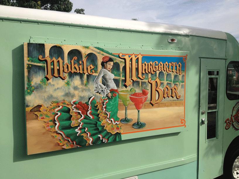 Mobile Margarita Bar Foodtruckrental Com
