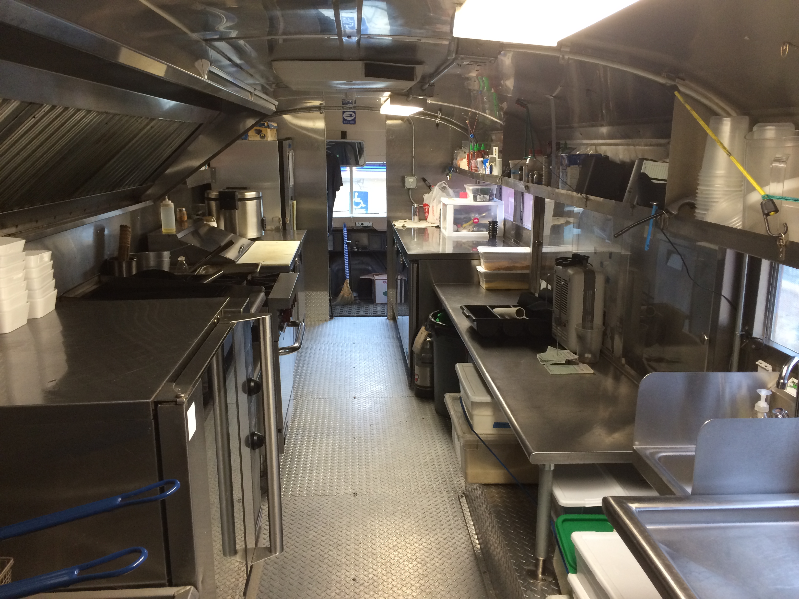 Kitchen School Bus Foodtruckrental Com