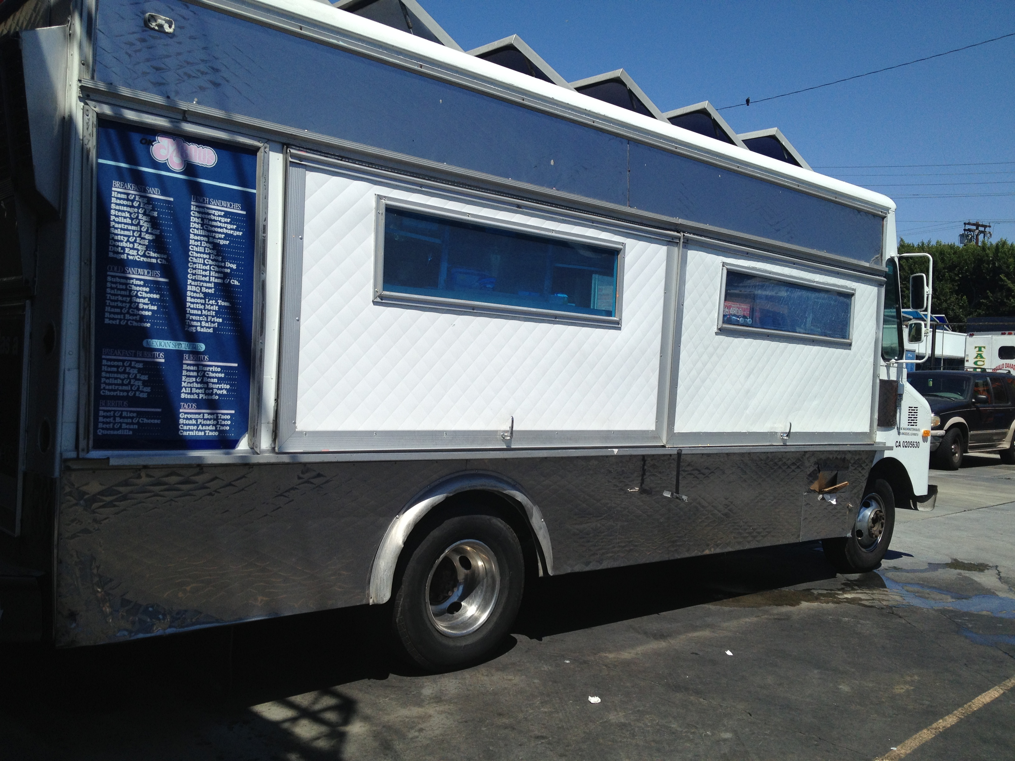 lunch catering truck for rent. Black Bedroom Furniture Sets. Home Design Ideas